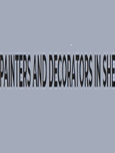 PAINTERS AND DECORATORS SHEFFIELD